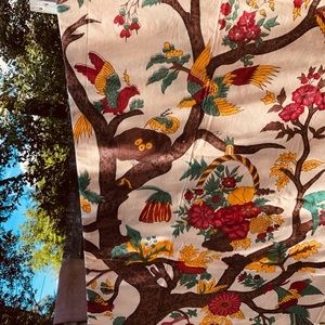Beautiful handwoven Double bedspread India 101x88